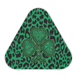 Lucky Irish Leopard Bluetooth Speaker