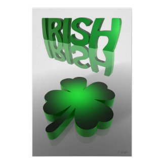 Lucky Irish Poster