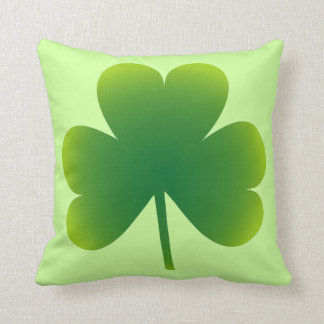 Lucky Irish Shamrock Cushion