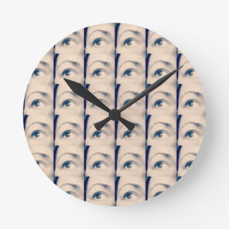 lucky karma brand wall clock
