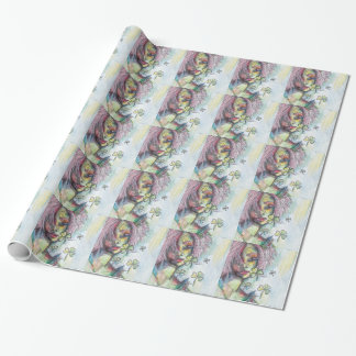 Lucky Lady Wrapping Paper