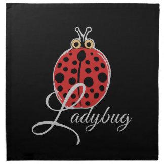 Lucky Ladybug Napkin