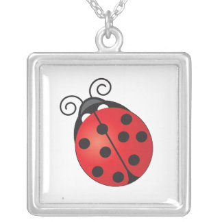 Lucky Ladybug Custom Necklace