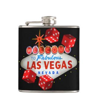 Lucky Las Vegas Pocket Flask