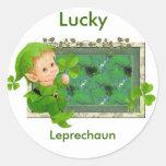 Lucky Leprechaun Sticker