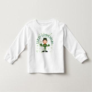 Lucky Leprechaun Toddler Long Sleeve Shirt
