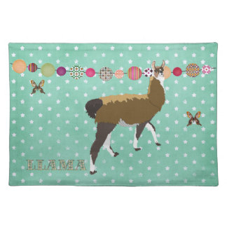 Lucky Llama & Butterfly Placemat