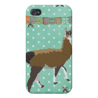 Lucky Llama i Cases For iPhone 4