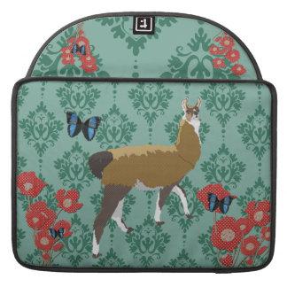 Lucky Llama Jaded Damask Macbook Sleeve Sleeves For MacBooks