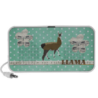 Lucky Llama Music Doodle Speaker