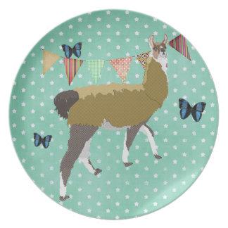 Lucky Llama Plate