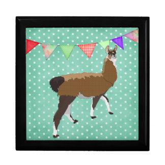 Lucky Llama Star Art Box Large Square Gift Box