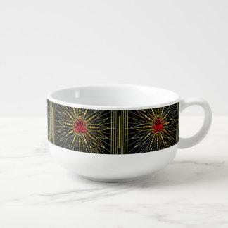 Lucky Lotus Soup Mug