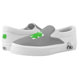 Lucky Me Custom Zipz Slip On Shoes