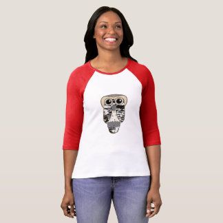 Lucky Owl Ladies T-Shirt