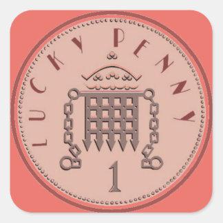 Lucky Penny Sticker