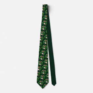 Lucky Pinup Girl Tie 50's Pinup St. Patrick's Ties