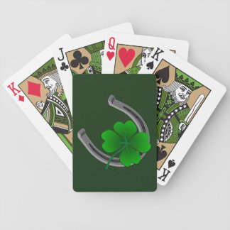 Lucky Playing Cards Lucky Charm St Patrick's Cards