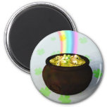Lucky Pot of Gold Magnet