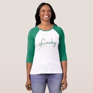 LUCKY Raglan St. Patrick's Day Tshirt 72marketing