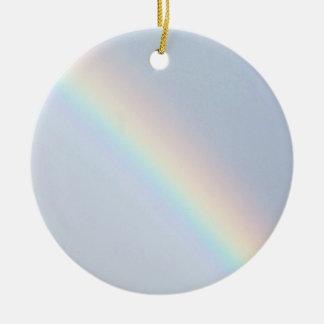 Lucky Rainbow Ceramic Ornament