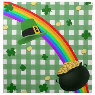 Lucky rainbow napkin