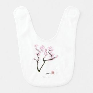 lucky sakura and pink goldfish, tony fernandes bib
