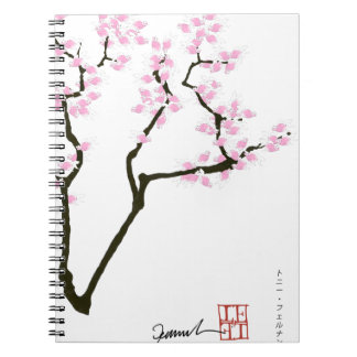 lucky sakura and pink goldfish, tony fernandes notebooks