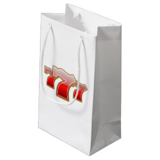 Lucky Sevens - Slot Machine Jackpot Small Gift Bag