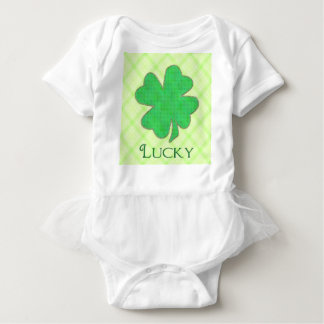 Lucky Shamrock #2 Baby Bodysuit