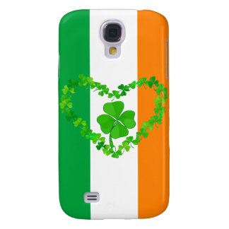 Lucky Shamrock Flag Galaxy S4 Cover