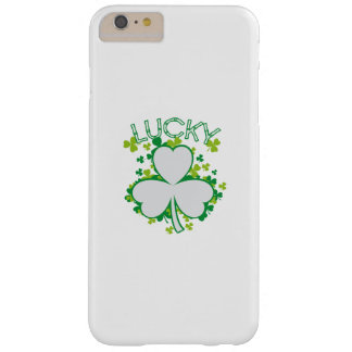 Lucky Shamrock Funny St Patricks Day Gift Barely There iPhone 6 Plus Case