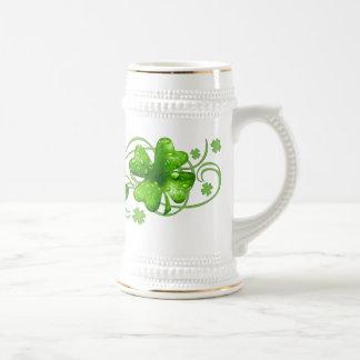 Lucky Shamrock Keepsake Coffee Mug