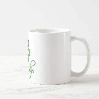 Lucky Shamrock Coffee Mugs