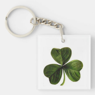 Lucky Shamrock St. Patrick's Day Key Chain