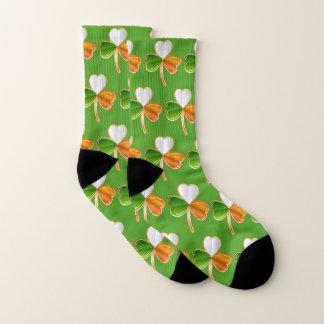 Lucky Shamrock St Pattys Patrick's Day Irish Cozy Socks