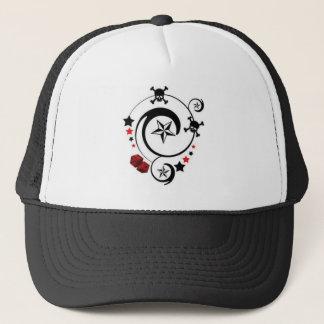 Lucky Skull Trucker Hat