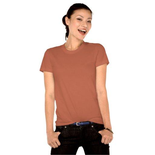 Lucky T-Shirt Pinup Girl Shirt Organic T-shirt