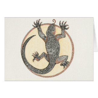 Lucky the Lizard of Sedona, Arizona Card