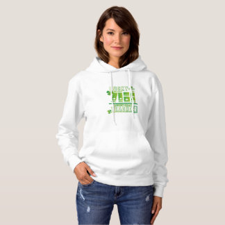 Lucky To Be A Eighth Grade Teacher St. Patric Day Hoodie