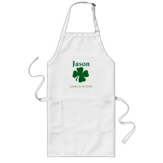 Lucky to be Irish Personalized Apron
