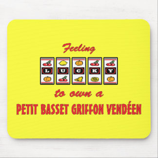 Lucky to Own a Petit Basset Griffon Vendéen Mouse Pad