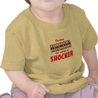 Lucky to Own a Shocker Fun Dog Design T-shirt