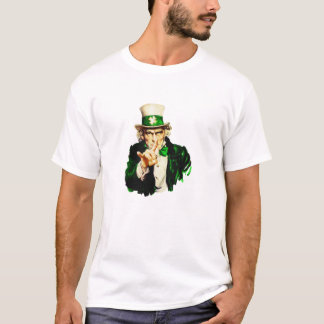 LUCKY UNCLE SAM CLOVER T-Shirt