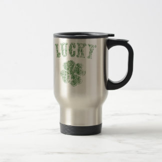 Lucky -vint stainless steel travel mug