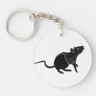 Lucky Zodaic Rat   keychain 2015