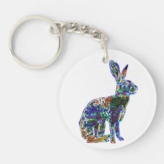 Lucky Zodiac Hare   keychain