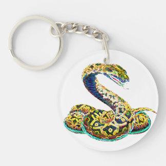 Lucky Zodiac Serpent   keychain