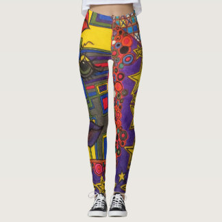 LuckyPen Art Leggings