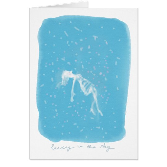 Lucy in the Sky Card